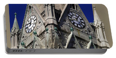 Gothic Church Clock Tower Spire Portable Battery Charger