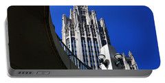 Gothic Tribune Tower Curve Portable Battery Charger
