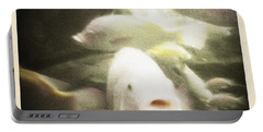 Portable Battery Charger featuring the photograph Gouramis by Bradley R Youngberg