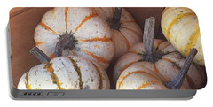 Portable Battery Charger featuring the photograph Gourd Harvest by Denyse Duhaime