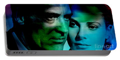 Grace Kelly And Cary Grant Portable Battery Charger