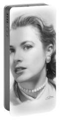 Grace Kelly Pencil Portable Battery Charger