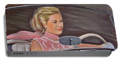 Grace Kelly - To Catch A Thief Portable Battery Charger