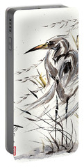 Portable Battery Charger featuring the painting Grace Of Solitude by Bill Searle