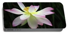 Graceful Lotus Portable Battery Charger