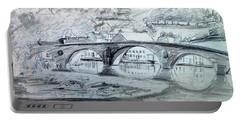 Graignamanagh Bridge River Barrow  Kilkenny Ireland  Portable Battery Charger