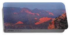 Grand Canyon At Sunset Portable Battery Charger by Jayne Wilson