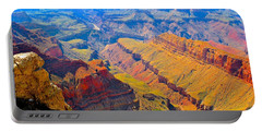Grand Canyon In Vivid Color Portable Battery Charger