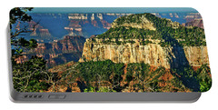 Portable Battery Charger featuring the photograph Grand Canyon Peak Angel Point by Bob and Nadine Johnston