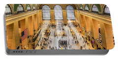 Grand Central Terminal Birds Eye View I Portable Battery Charger
