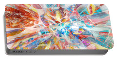 Portable Battery Charger featuring the digital art Grand Entrance by Margie Chapman