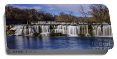 Grand Falls In Joplin Missouri Portable Battery Charger