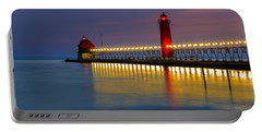 Grand Haven South Pier Lighthouse Portable Battery Charger
