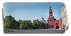 Grand Kremlin Palace With Cathedral Portable Battery Charger