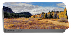 Grand Mesa Colors Portable Battery Charger by Bob Hislop