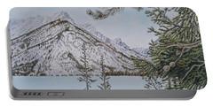 Grand Teton View Portable Battery Charger
