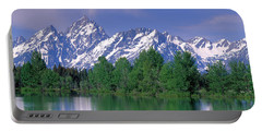 Grand Tetons National Park Wy Portable Battery Charger