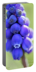 Grape Hyacinth Portable Battery Charger