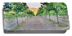 Grape Vines Portable Battery Charger