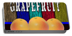 Grapefruit Portable Battery Charger