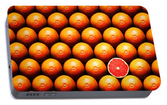 Grapefruit Portable Battery Chargers