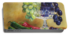 Grapes And Jalapenos Portable Battery Charger
