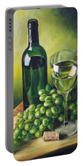 Grapes And Wine Portable Battery Charger