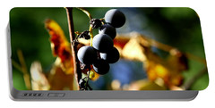 Grapes On The Vine No.2 Portable Battery Charger