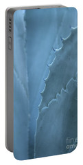 Gray-blue Patterns Portable Battery Charger
