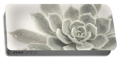 Gray Succulent 2 Portable Battery Charger