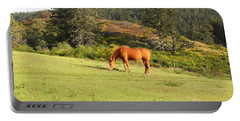 Portable Battery Charger featuring the photograph Grazing by Cheryl Hoyle
