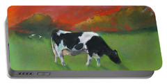 Grazing Cow Portable Battery Charger