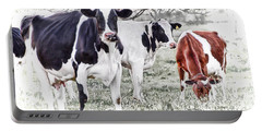 Busy Bovines Portable Battery Charger