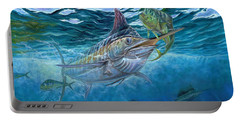 Great Blue And Mahi Mahi Underwater Portable Battery Charger