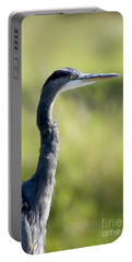 Great Blue Heron Backlit Portable Battery Charger