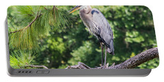 Great Blue Heron I Portable Battery Charger