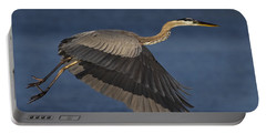 Portable Battery Charger featuring the photograph Great Blue Heron by J L Woody Wooden