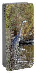 Great Blue Heron - Juvenile Portable Battery Charger