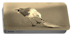 Portable Battery Charger featuring the photograph Great Catch With Fish by Cynthia Guinn