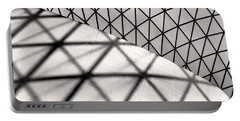 Great Court Abstract Portable Battery Charger
