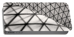 Portable Battery Charger featuring the photograph Great Court Abstract by Rona Black