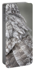 Great Grey Owl Feathers Portable Battery Charger