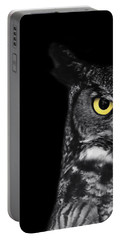 Great Horned Owl Photo Portable Battery Charger