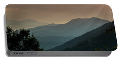 Portable Battery Charger featuring the photograph Great Smoky Mountains Blue Ridge Parkway by Patti Deters
