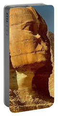 Portable Battery Charger featuring the photograph Great Sphinx Of Giza by Travel Pics