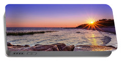 Portable Battery Charger featuring the photograph Saints Landing Cape Cod by Mike Ste Marie
