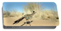 Greater Roadrunner Running Portable Battery Charger