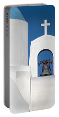 Greek Island Church Portable Battery Charger