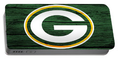 Green Bay Packers Barn Door Portable Battery Charger