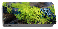 Green Lichen Portable Battery Charger